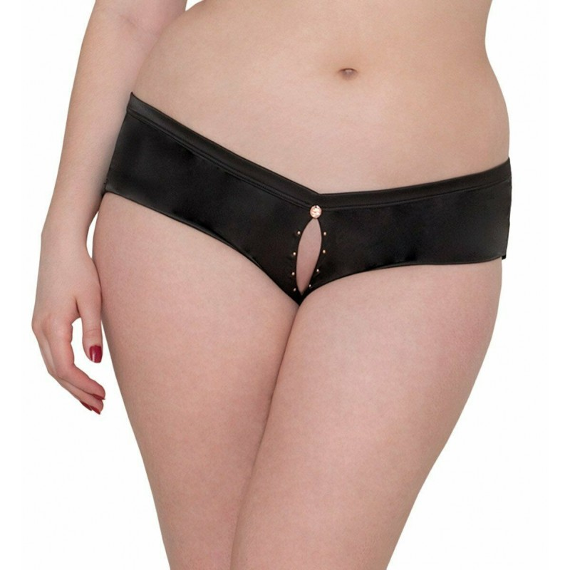 Scantilly By Curvy Kate Voodoo Brief Knickers ST3505 Black