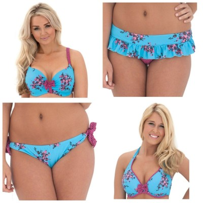 86ac28fb05cf8 Curvy Kate Beach Bloom Halterneck